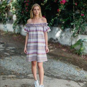 Anthropologie Corey Lynn Carter Dion OTS Dress